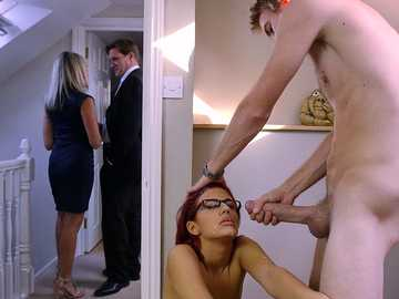Aylin Diamond in Shy Redheads Like It Rough
