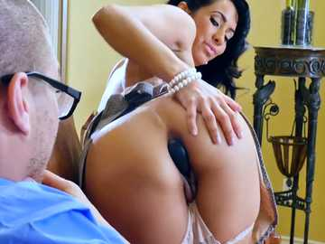 Hungry milf Isis Love gets rimmed by filthy fellow Xander Corvus